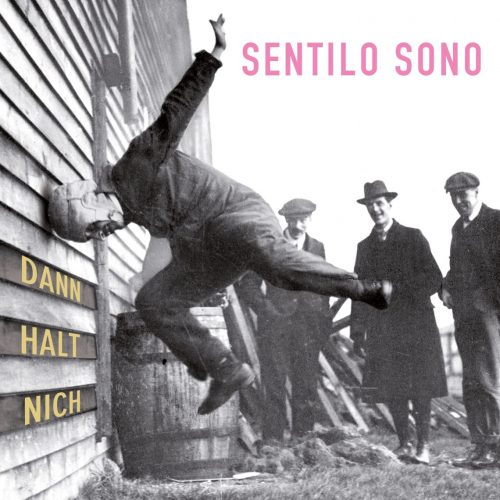 Layout Sentilo Sono - Album Dann halt nich 3000x3000px front